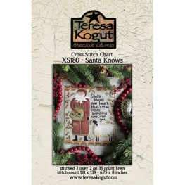 Схема Santa Knows Teresa Kogut XS180