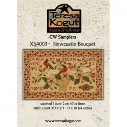 Схема Newcastle Bouquet Teresa Kogut XS4003