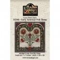 Схема Early American Folk Sheep Teresa Kogut XS2345