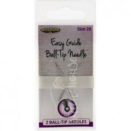Иглы для вышивки Easy Guide Ball-Tip Needle №28 Sullivans 39871