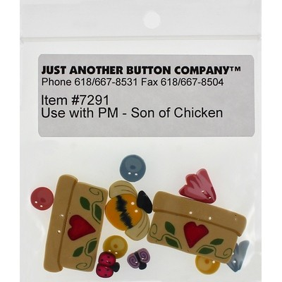Пуговицы Son of Chicken Just Another Button Company