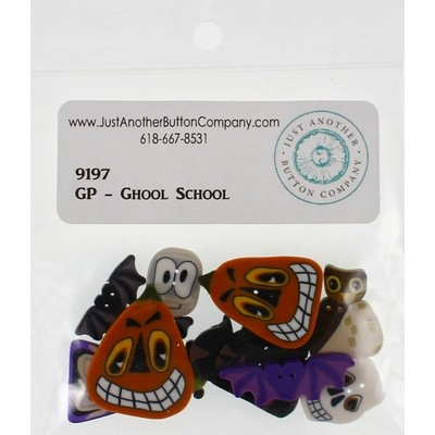 Пуговицы Ghoul School Just Another Button Company
