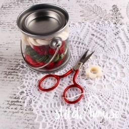 Ножницы для рукоделия Red Soft Touch Bohin 24316