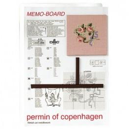 Магнитная доска с двумя магнитами Permin 5885