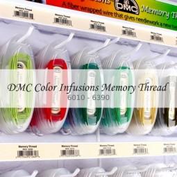 Нити DMC Color Infusions Memory Thread