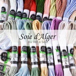 Нити шелковые Soie d'Alger Au Ver a Soie