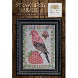 Схема Strawberry Harvest Cottage Garden Samplings