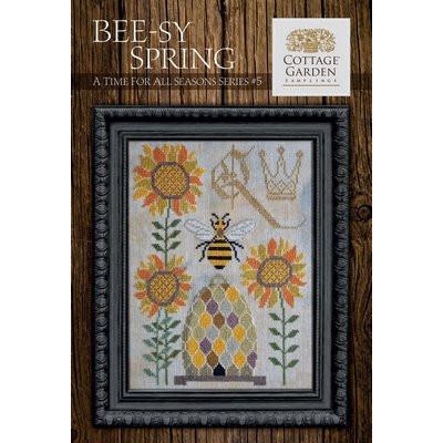 Схема Bee-sy Spring Cottage Garden Samplings