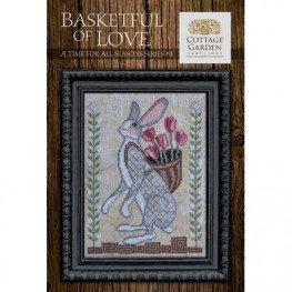 Схема Basketful Of Love Cottage Garden Samplings