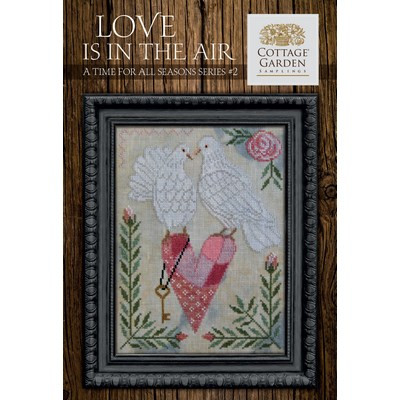 Схема Love Is In The Air Cottage Garden Samplings