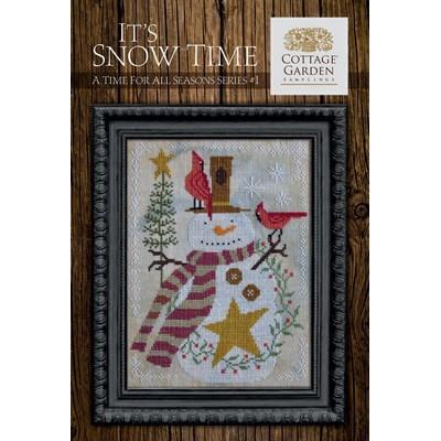 Схема It's Snow Time Cottage Garden Samplings