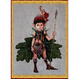 Набор Lutin des Chenes - Elf of the Oaks (Эльф дубов) Nimue 36 K