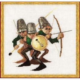 Набір Guerre des Boutons - The War of Buttons (Війна кнопок) Nimue 3 K