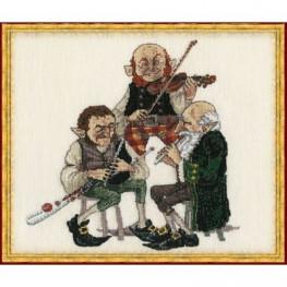Набір Uilleann pipe (Музыкальная труба Уиллена) Nimue 13 K