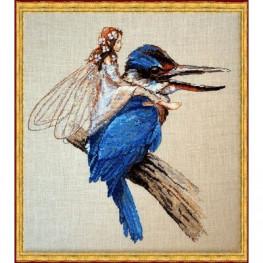 Набір Le Martin-Pecheur – Kingfisher (Зимородок) Nimue 64 K