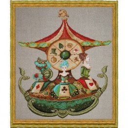 Набір Manege d' Alice - Alice's Carousel (Карусель Аліси) Nimue 102 K