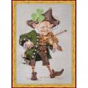 Набор Violoniste au Trefle - The Shamrok Fiddler (Скрипач в клевере) Nimue 19 K