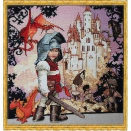 Набор Petit Chevalier - The Little Knight (Маленький рыцарь) 120 K