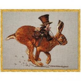 Набір Le Lievre et le Postier - The Hare and the Postman (Заєць і листоноша) Nimue 72 K