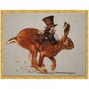 Набор Le Lievre et le Postier - The Hare and the Postman (Заяц и почтальон) Nimue 72 K