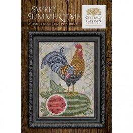 Схема Sweet Summertime Cottage Garden Samplings