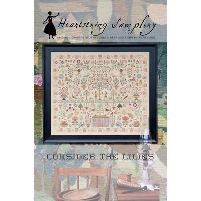 Схема Consider The Lilies Heartstring Samplery