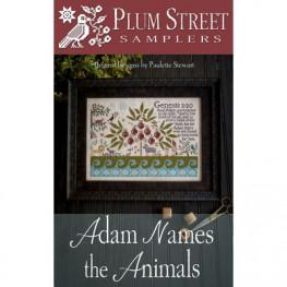 Схема Adam Names the Animals Plum Street Samplers