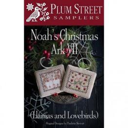 Схема Noah's Christmas Ark VII Plum Street Samplers
