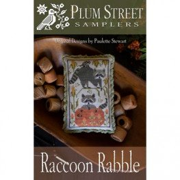 Схема Raccoon Rabble Plum Street Samplers
