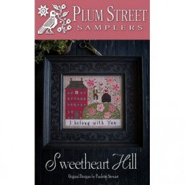 Схема Sweetheart Hill Plum Street Samplers