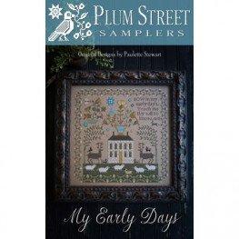 Схема My Early Days Plum Street Samplers