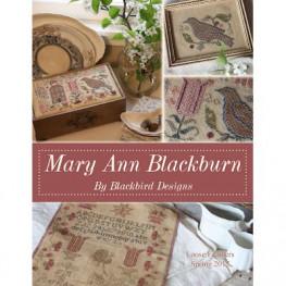 Схема Mary Ann Blackburn Blackbird Designs