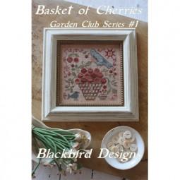 Схема Basket of Cherries Blackbird Designs