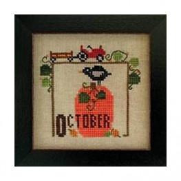 Схема Joyful Journal - October Heart in Hand