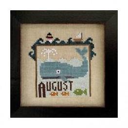 Схема Joyful Journal - August Heart in Hand