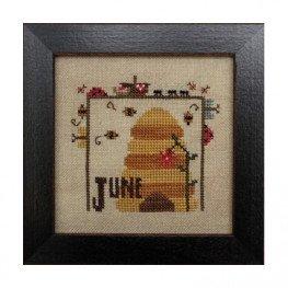 Схема Joyful Journal - June Heart in Hand