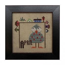 Схема Joyful Journal – April Heart in Hand