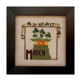 Схема Joyful Journal - March Heart in Hand