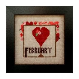 Схема Joyful Journal - February Heart in Hand