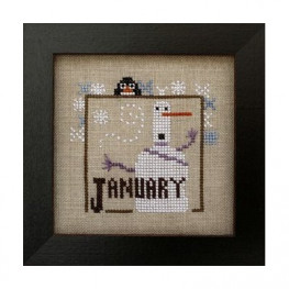 Схема Joyful Journal - January Heart in Hand