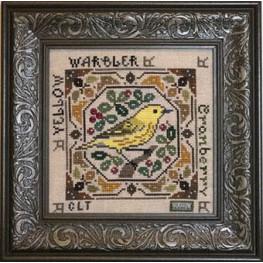 Схема Birdie & Berries - Yellow Warbler Tellin Emblem