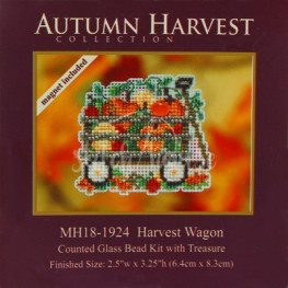 Набір Harvest Wagon Mill Hill MH181924