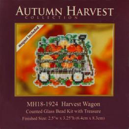 Набор Harvest Wagon Mill Hill MH181924