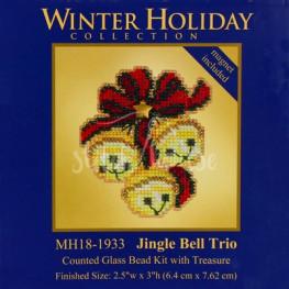 Набір Jingle Bell Trio Mill Hill MH181933