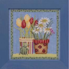Набір Tulips & Daisies Mill Hill DM301912