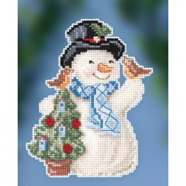 Набор Feathered Friends Snowman Mill Hill JS202012