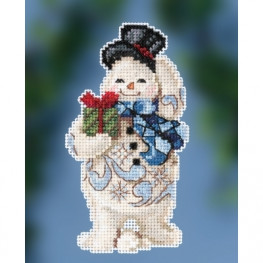 Набор Gift Giving Snowman Mill Hill JS202011