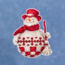 Набор Nordic Snowman Mill Hill JS201916