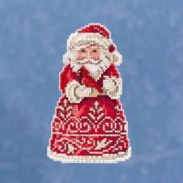Набор Santa With Cardinal Mill Hill JS201913