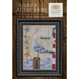 Схема Summer At The Shore Cottage Garden Samplings